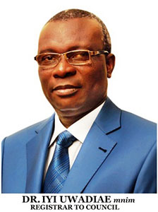 Dr. Iyi Uwadiae - 12th Registrar to the West African Examinations Council